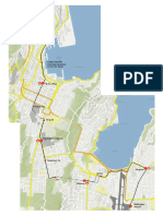 Suggested Wellington light rail route