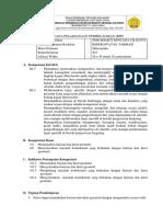 RPP 3.6 4.6 Barisan Dan Deret Geometri