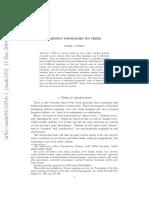 Various Topologies on Trees - Peter J. Nyikos