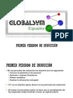 Primer Periodo Inducción Globalsym