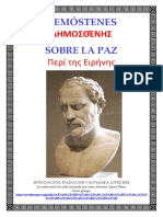 Sobre la paz Ed.bilingue - Demóstenes.pdf