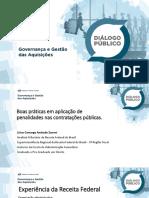 Boas Prática Em Aplicações de Penalidades Nas Contratações Públicas - Lísias Camargo Andrade Zanoni - RFB