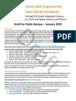 Science standards draft