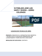 2. Liquidacion de Obra Parque Sector Ix Josel.b.y r.