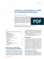 Anestesia y Paratiroides