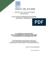 Sistemas de Contratacion Petrolera IAEN 010 2001