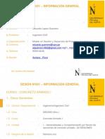 1.1 Secc 01_ Generalidades - Concreto Armado I 18-10-18