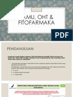 VI. Jamu, Oht & Fitofarmaka