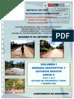 Anexo A Estudio Trazo y Diseño Vial Tomo 1.PDF