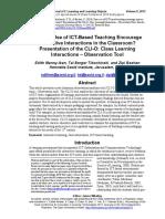 Ict teaching science