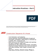 Good Construction Practices 1