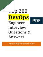 Devops Exp Interview Questions