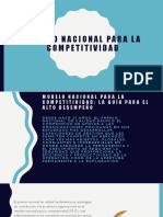 Modelo Nacional Para La Competitividad (1)