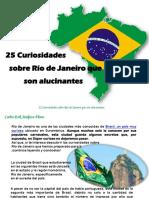 Carlos Erik Malpica Flores - 25 Curiosidades sobre Río de Janeiro que son alucinantes