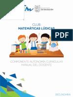 Club Matematicas Ludicas