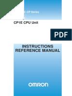 W483-E1-03+CP1E-CPU+InstManual