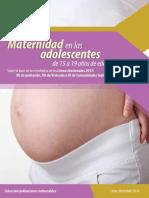 Maternidad Adolescente