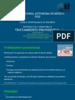 Tratamiento Provisional
