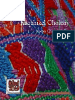 Diccionario Kaqchikel Choltzij K Ak a Taq Tzij