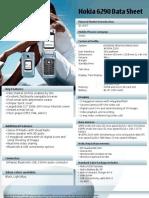 Nokia 6290 Data Sheet