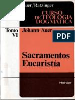 Sacramentos Eucaristia Auer Johann HERDER Subra