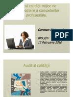 Seminar09 Auditul Calitatii-Ghid Mataragiu Carmen