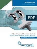 Genutech Tecnica Quirurgica Dcf Tiempo Femoral Es-fr