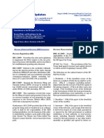 Tax Updates (1st Qtr 09)