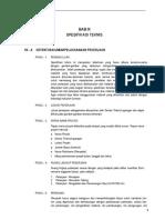 Spesifikasi Teknik Mentawai