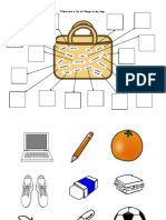 Bag Basic English Words