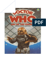 Doctor Who and the Time Warrior Terrance Dicks