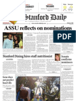 The Stanford Daily, Oct. 20, 2010