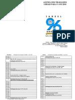 Calendario IADESL 2018 Atual