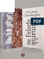 2253 Mimarliq Ve Felsefe Ducane Cundioghlu 2012 167s