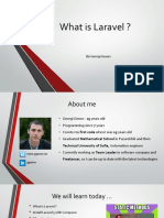 What is Laravel 23 August 2017