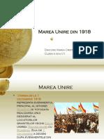 109864909 Marea Unire Din 1918 Power Point