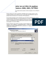 Como montar un servidor de paginas web en Windows 2000, 2003, XP PRO.pdf