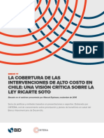 Breve 17 La Cobertura de Las Intervenciones de Alto Costo en Chile Una Visión Crítica Sobre La Ley Ricarte Soto