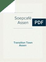 Persbericht Soepcafé  Assen
