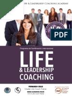 Brochure Life Coaching Semi Presencial 2018