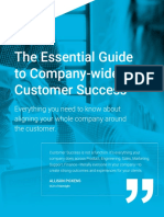 Gainsight - The Essential Guide to Company-wide Customer Success