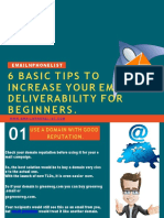 6 Basic Tips to Increase Your Email Deliverability for Beginners