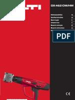 Operating Instruction DX 462 CM, DX 462 HM (01)