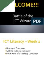 Battle Ict Materials