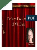 Analysis of WD Gann