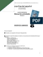 Claves de Respuestas a Ejercicios en Manual de Actividades - Vol 1
