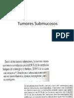 tumores submucosos