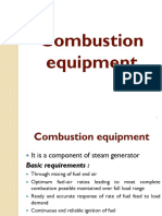 Combustion Equipments