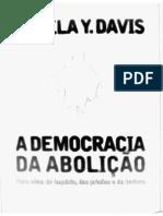 Angela Davis a Democracia Da Abolição