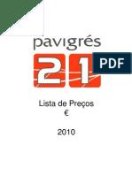 Pavigres 21 2010